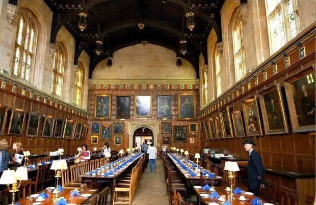 Oxford, dining hall
